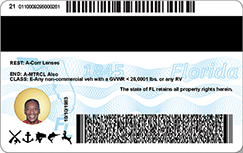 id requirements for fl drivers license